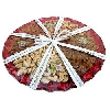 Relishing Dry Fruits in Tray