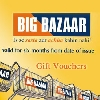 Gift Coupon Of Big Bazar