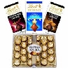 Ferrero Rocher and Lindt Chocolates