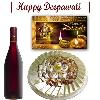 Diwali Wine with Sweets Hamper