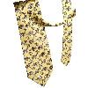 Pure Silk Neck Tie in Yellow