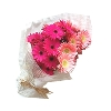 20 Pink and Peach Gerbera Bunch