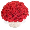 Red Rose Dome Arrangement