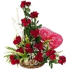 Red Roses Baskets
