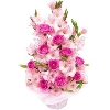 Gladioli and Roses From Bangalore Online Florist