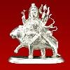 Silver Durga Idol