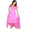 Pink Stitched Georgette Suits